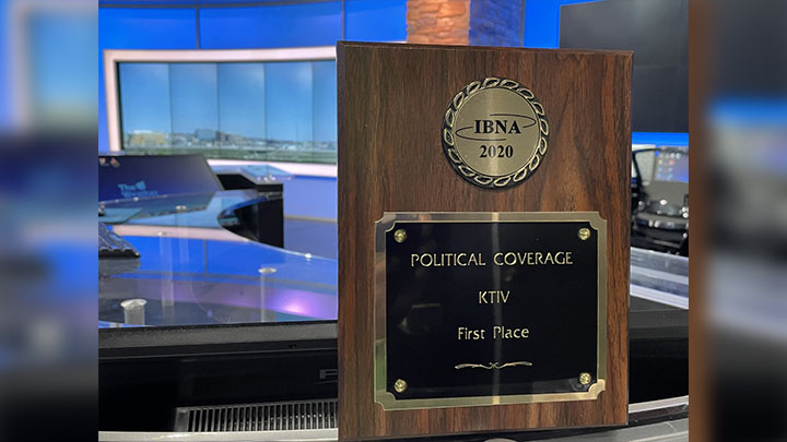 Political Coverage first place