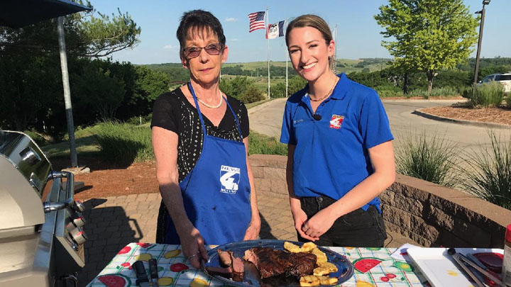 Grillin' With News 4, grilled arm roast