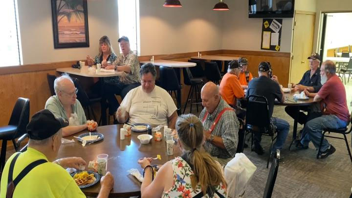 Waffles for Warriors, July 28