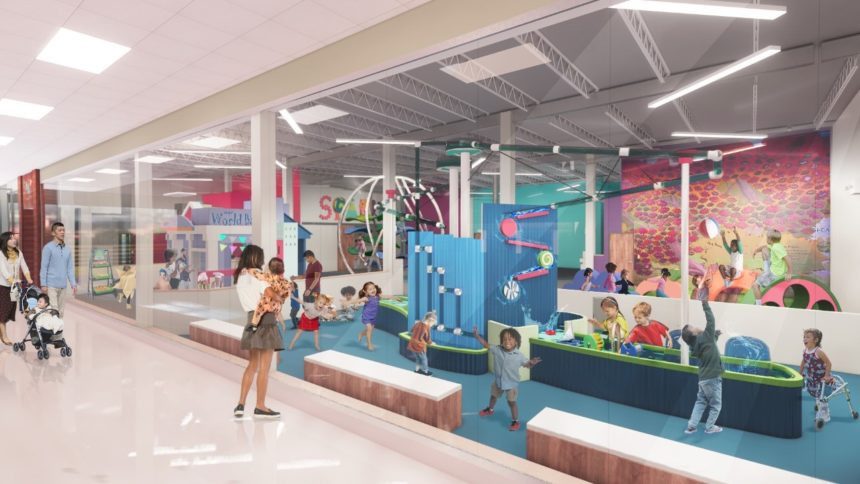 Rendering of Spark in Apache Mall
