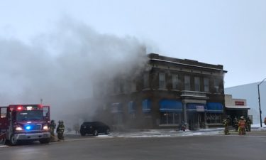 Bakery fire picture