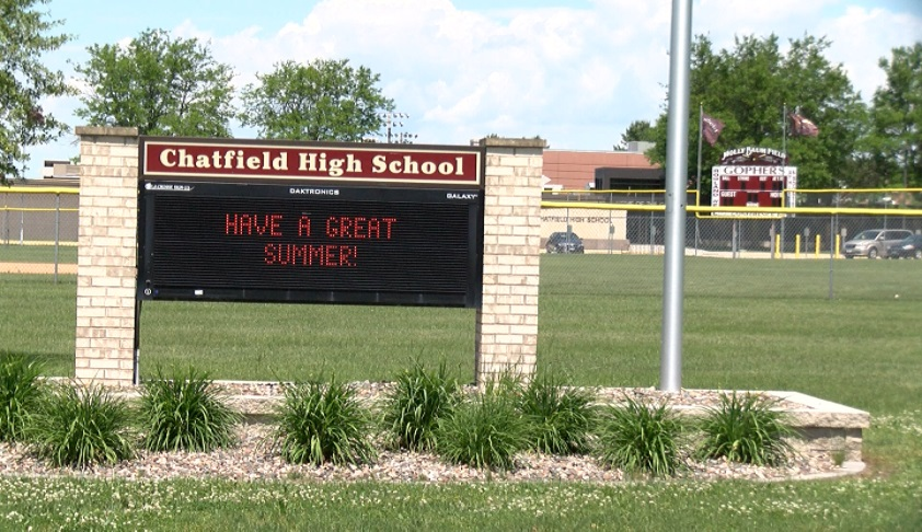 Chatfield HS sign