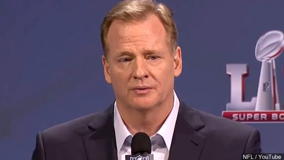 Roger Goodell, Commissioner of the NFL