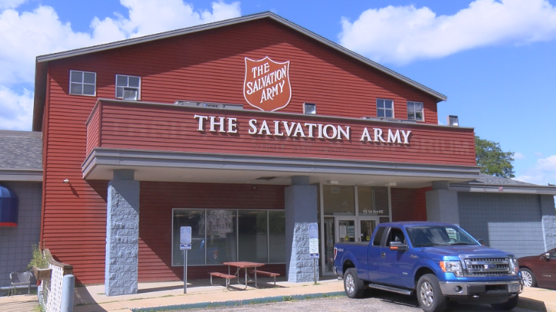 Rochester's Salvation Army on 1st Avenue Northeast