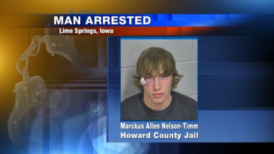 iowa man arrested