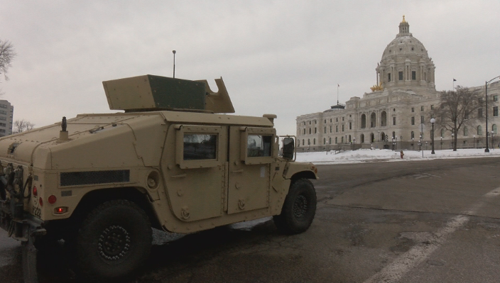 Extra law enforcement presence at Minnesota State Capitol