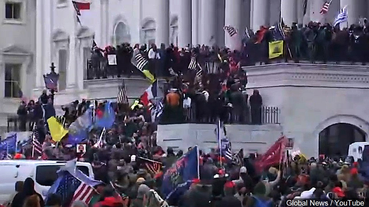 Protesters invade U.S. Capitol