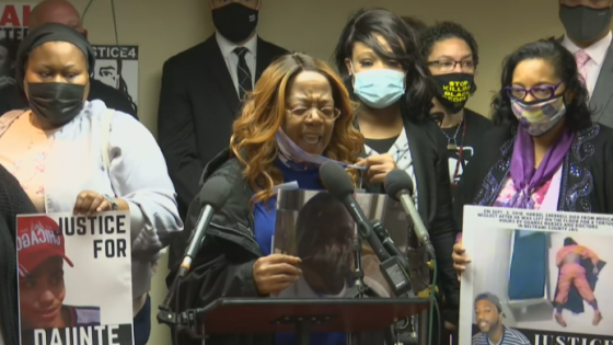 Matilda Smith, mother of man killed by police officers