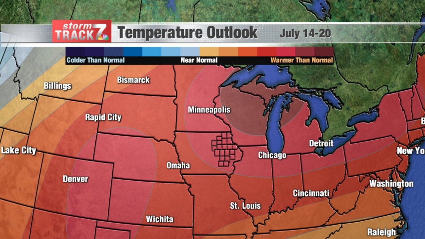 Temperature Outlook 8-14 Day