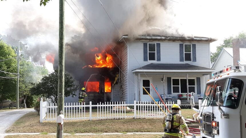 Ind. house fire