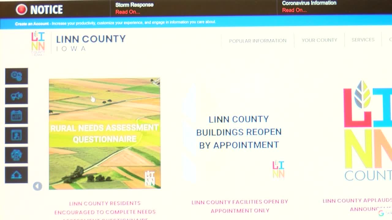 Questionnaire from Linn Co. Public Health makes requesting derecho assistance easier