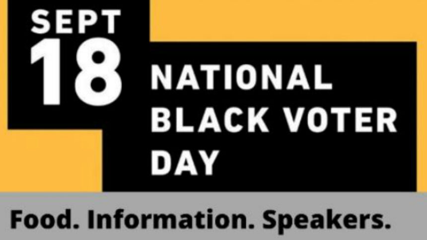 black voter day y
