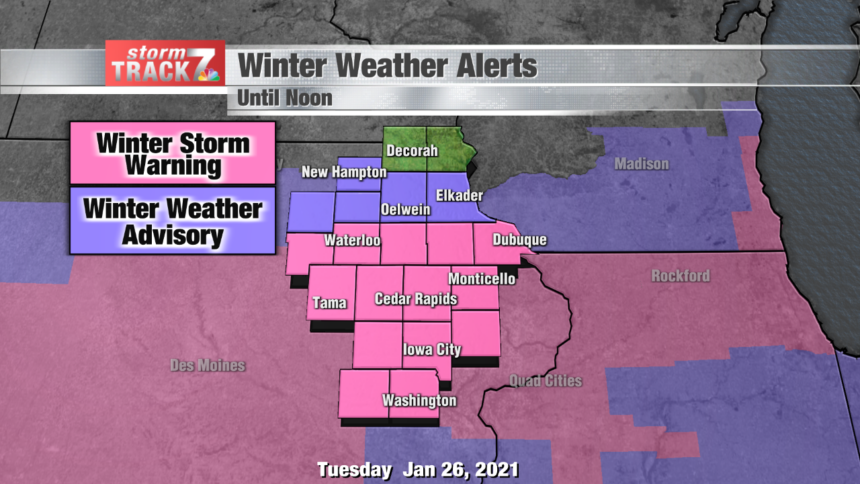 thumbnail_Winter Weather Alerts with snow amounts