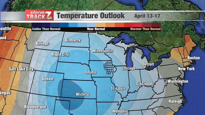 Temperature Outlook 6-10 Day