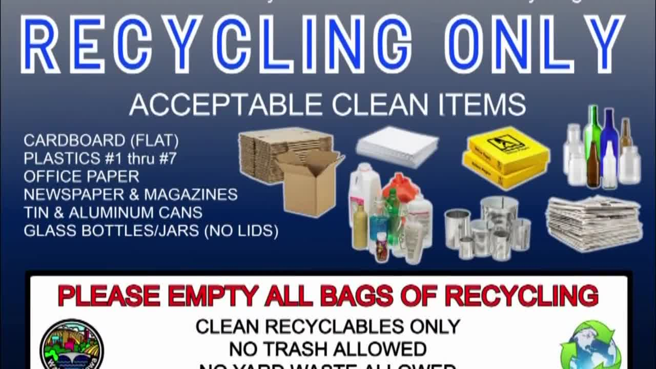 Waterloo Public Works Sanitation Department urges residents to stop throwing away contaminants into recycle