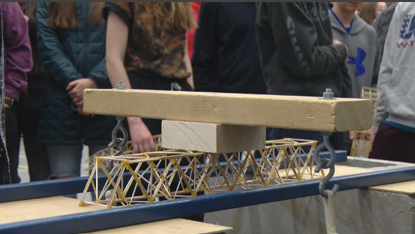 Students See Toothpick Bridge Competition As More Than Engineering Project