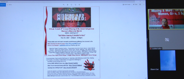 Missing and murdered indigenous women remembered with virtual march