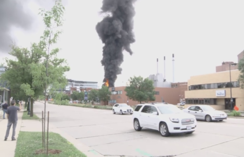 MGE substation fire and explosion July 19, 2019 in Madison.