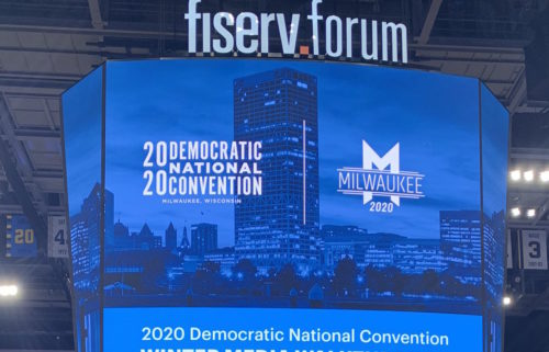 Fiserv Forum, Milwaukee, home of the DNC Democratic National Convention in the summer of 2020.