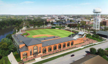 New Beloit Stadium, which will be the home of the Snappers minor league team.