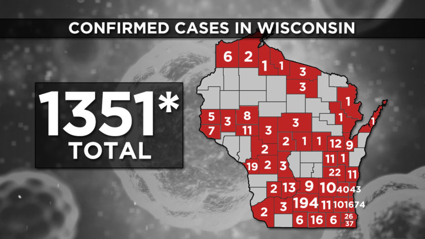 3-31 WI Confirmed Cases 1351