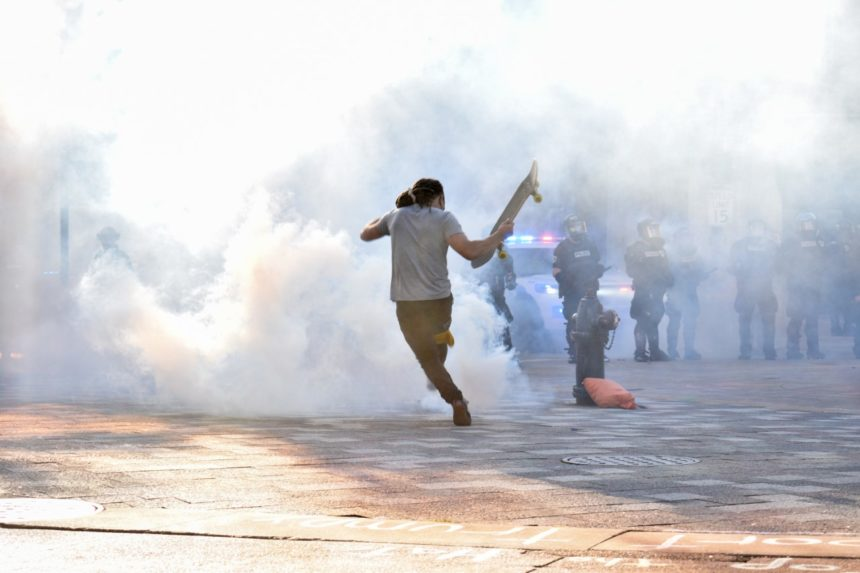 Chemical weapon or less harmful crowd control? Digging Deeper into Madison's tear gas debate