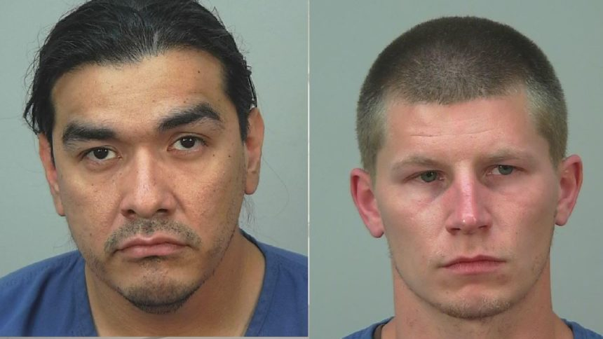 Anthony Krohn, left, Kyle Quade have been charged in unrelated weapons cases.
