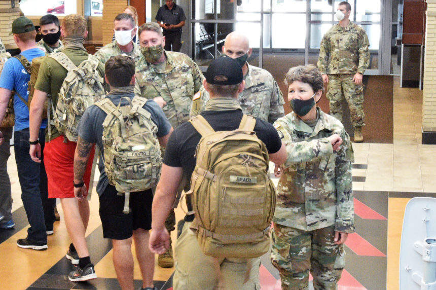 Wisconsin Army Guard Soldiers back in Wisconsin from Afghanistan deployment