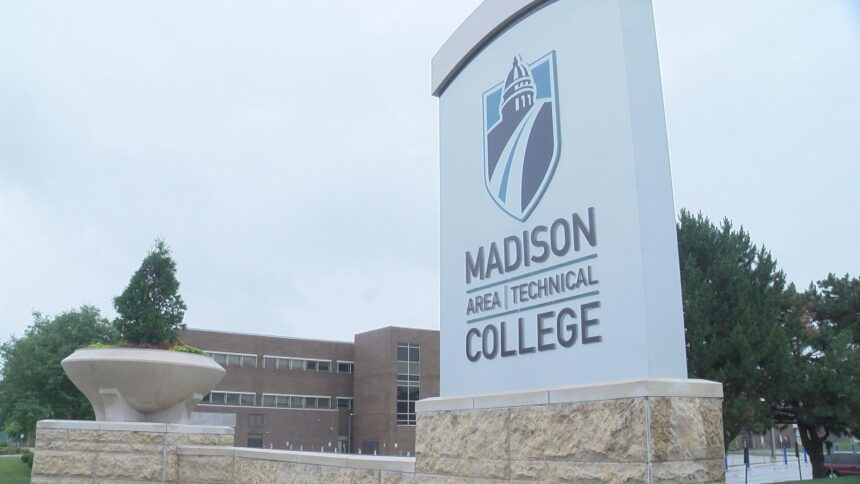 Madison College sign