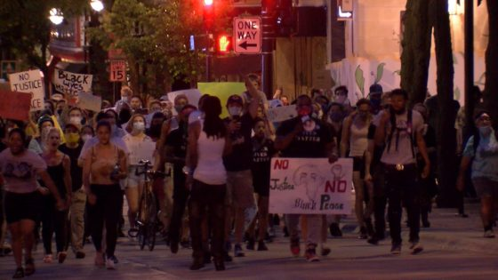 Demonstrators continue protests Saturday in Madison