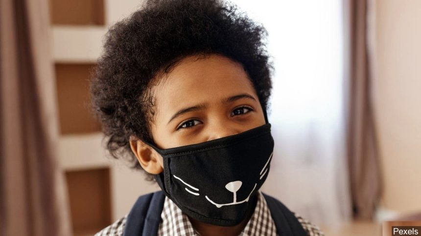 Some children will have to wear masks when they return to school in the fall.