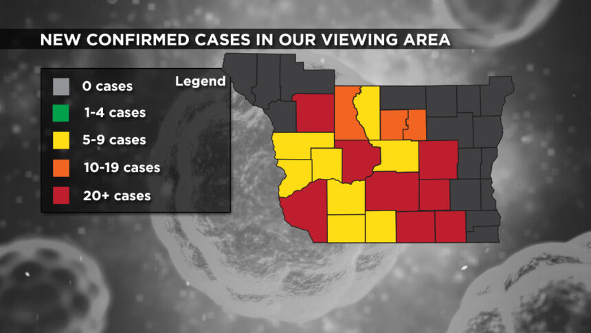 9-24 Viewing Area New Cases