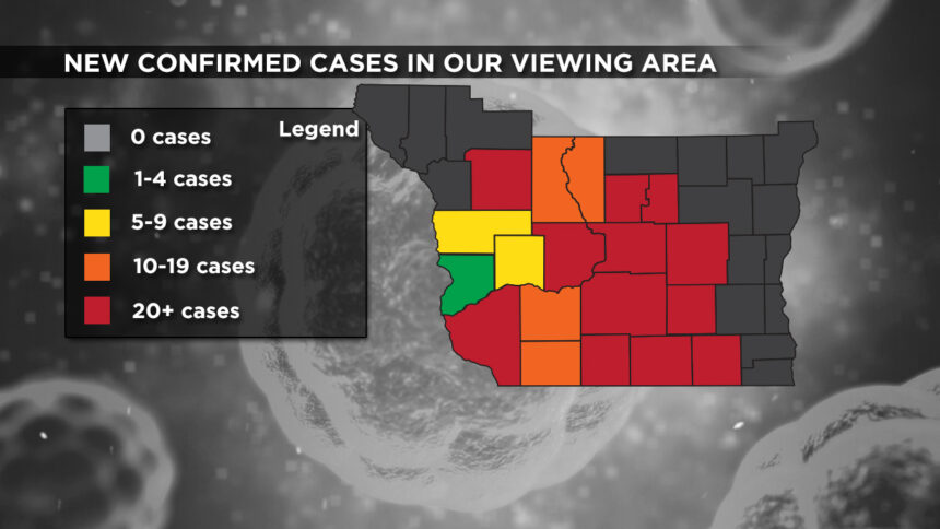 10-23 Viewing Area New Cases