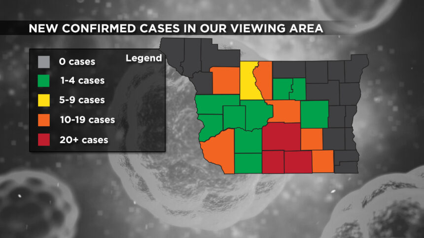 2-12 Viewing Area New Cases