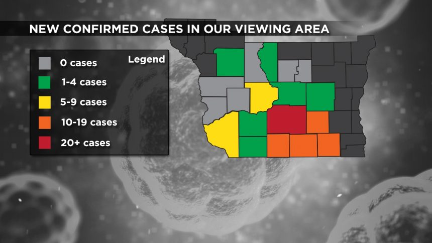 3-31 Viewing Area New Cases