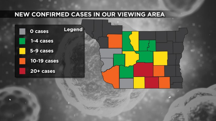 4-16 Viewing Area New Cases