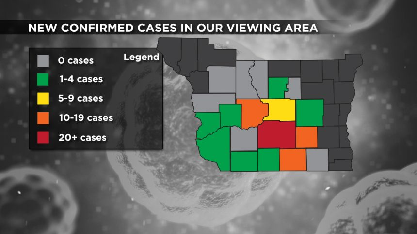 4-19 Viewing Area New Cases