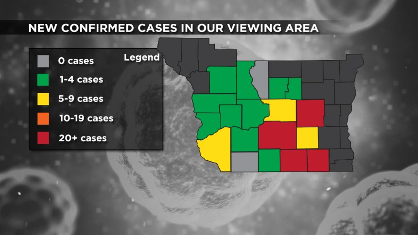 4-27 Viewing Area New Cases