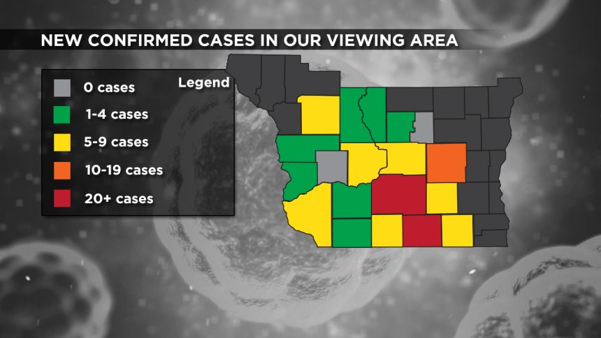 4-30 Viewing Area New Cases