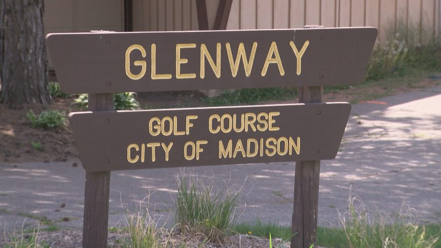 Glenway Golf Course sign